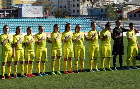 Our girls played in the Albania national team