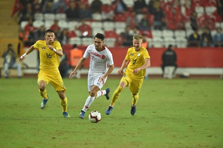 Friendly Match. Turkey - Ukraine - 0: 0