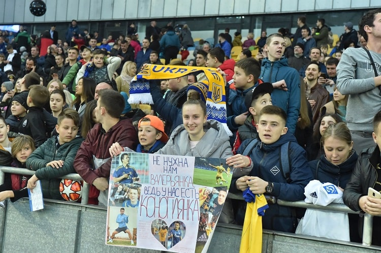 "Open training of the national team of Ukraine at the Kiev NSC ""Olympic"" (18.03.2019)"
