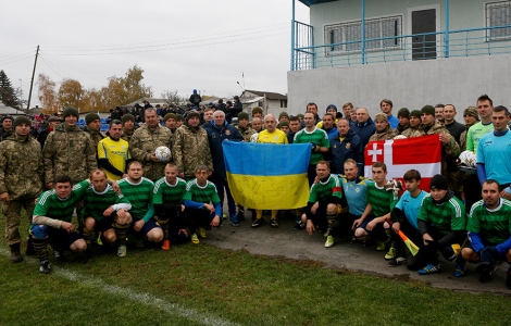 Two victories of football legends in the ATO zone