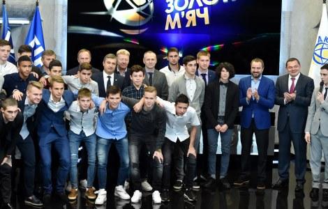 Gold balls - to Ukrainian talents!
