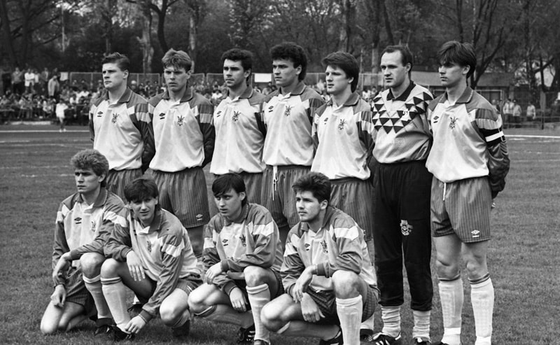 The first match in the history of the national team of Ukraine: as it was 28 years ago ...