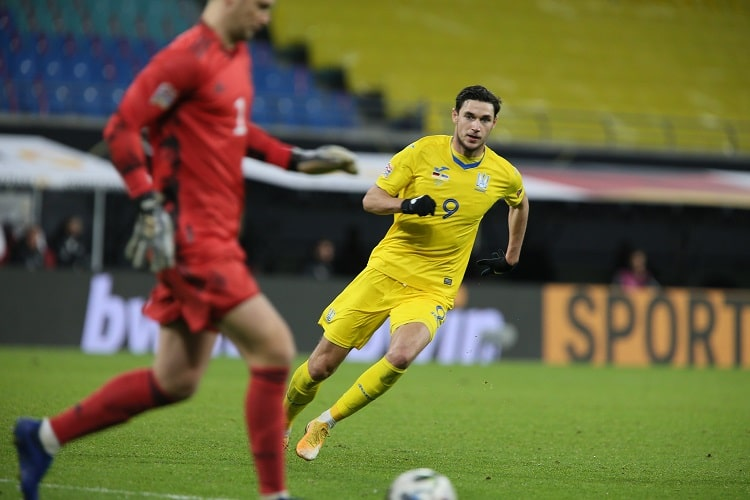 Ukraine goalscorers: Roman Yaremchuk entered the top 20 of best blue-and-yellow snipers in history