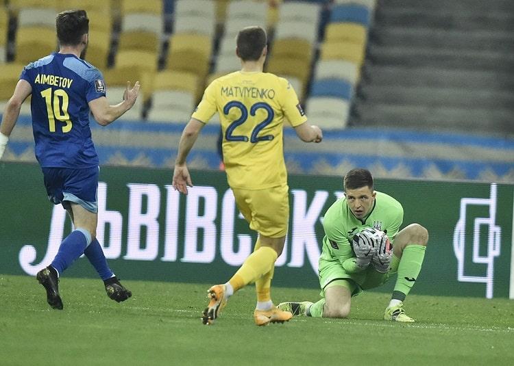 All debutants of the national team of Ukraine Andriy Shevchenko: Anatoliy Trubin - 32nd, Artem Dovbyk - 33rd