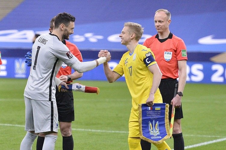 Oleksandr Zinchenko is the youngest captain of the Ukrainian national team in official matches and the third in history