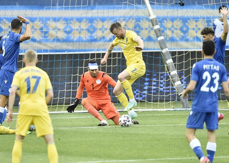 Scorers of the national team of Ukraine: Yarmolenko continues the pursuit of the record of Shevchenko