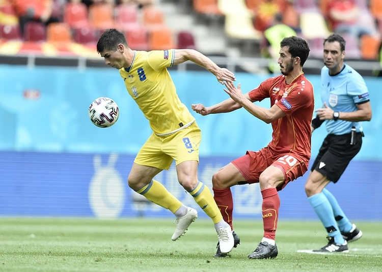 Ruslan Malinovskyi entered the top 30 of Ukraine most capped players