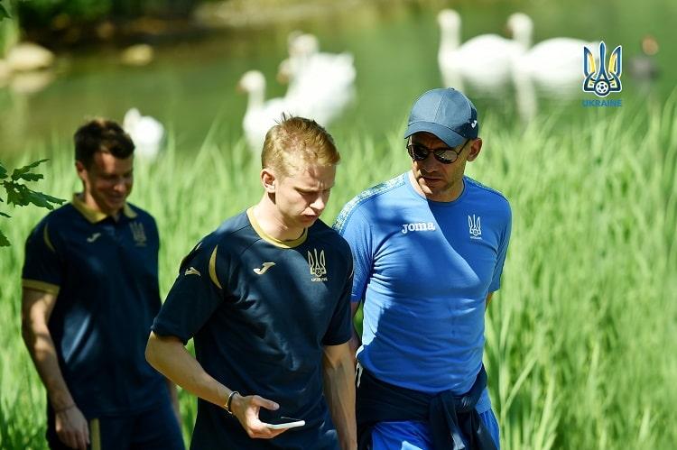 Profile of the national team of Ukraine: two age poles of Oleksandr Zinchenko and Andriy Shevchenko